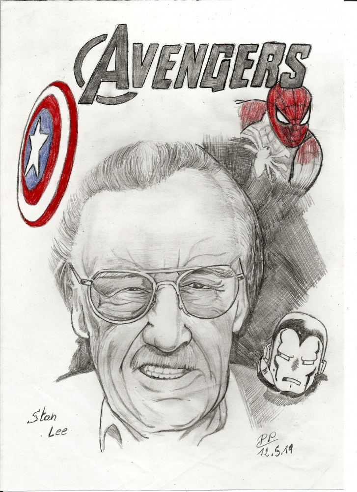 Stan Lee by Patoux
